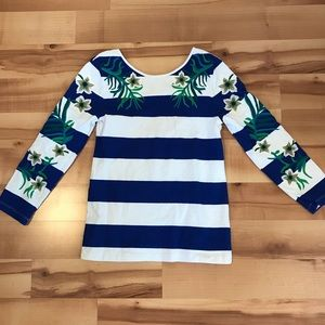 Juicy Couture Long Sleeve Low Back Shirt